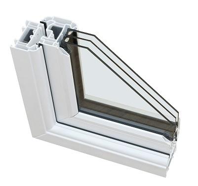 پنجره سه جداره درساوین